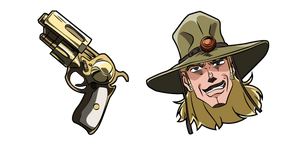 JoJo's Bizarre Adventure Hol Horse and The Emperor Curseur