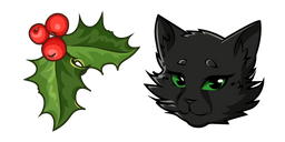 Warrior Cats Hollyleaf and Holy Curseur