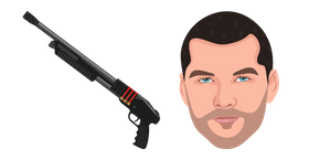 Terminator Marcus Wright and Remington 870 Cursor