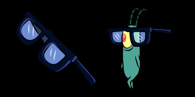 SpongeBob Plankton in Glasses