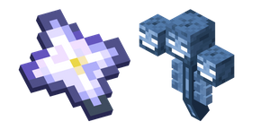 Minecraft Wither and Nether Star Cursor