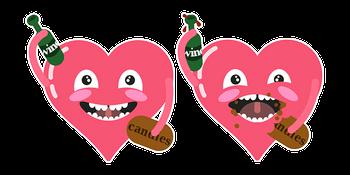Amused Heart Cursor