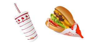In-N-Out Burger and Drink Cursor