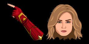 Captain Marvel Carol Danvers Cursor