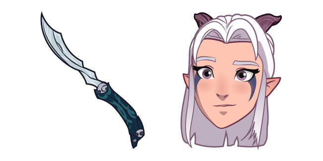 The Dragon Prince Rayla and Dagger