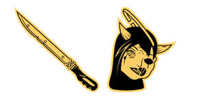 Bendy and the Ink Machine Twisted Alice Cursor