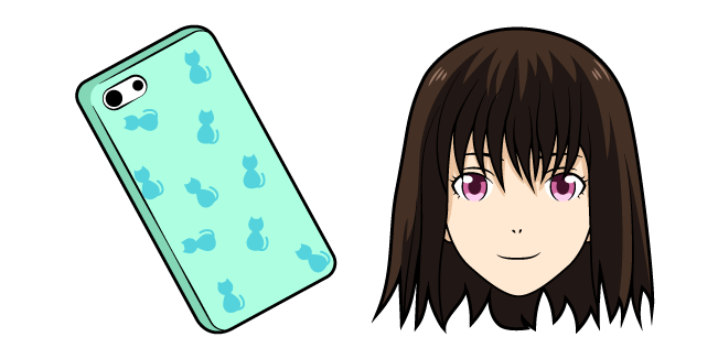 Noragami Iki Hiyori and Phone