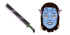 Avatar Grace and Machete Cursor