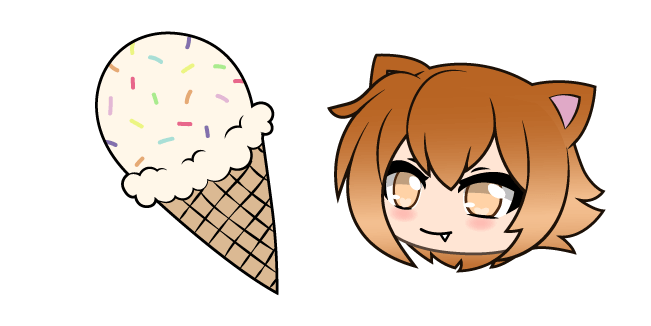 Gacha Life Autumn and Ice Cream