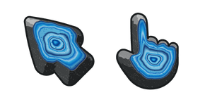 Materials Blue Agate Cursor