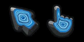 Materials Blue Agate Curseur