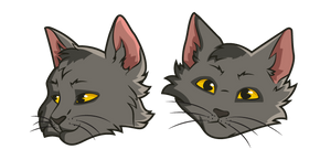 Warrior Cats Graystripe Curseur