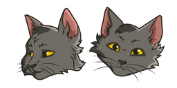 Warrior Cats Graystripe Curseur