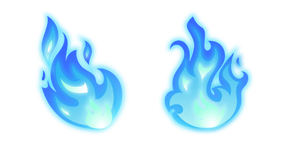 Blue Fire Cursor