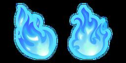 Blue Fire Curseur