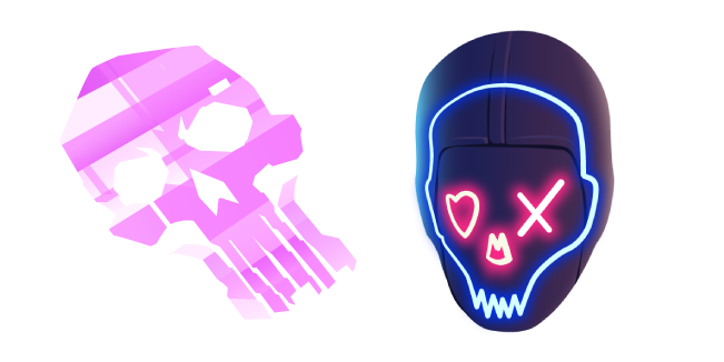 Fortnite Holo Skull and Party Trooper