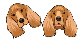 English Cocker Spaniel Dog Cursor