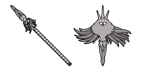Hollow Knight The Radiance Cursor