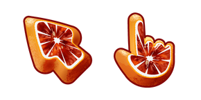 Materials Blood Orange Cursor