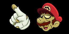 Курсор Super Mario Halloween Зомби