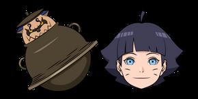 Naruto Himawari Uzumaki and Shukaku Cursor