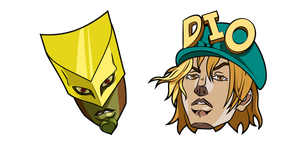 JoJo's Bizarre Adventure Diego Brando and The World Curseur