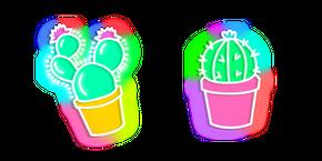 Neon Cactus Cursor