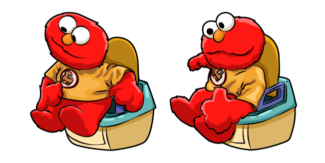 Elmo on the Potty Meme