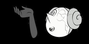 Steven Universe White Pearl Cursor