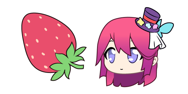 Gacha Life Midori and Strawberry