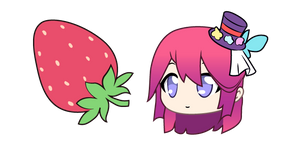 Gacha Life Midori and Strawberry Cursor