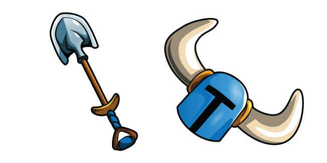 Shovel Knight and Shovel Blade