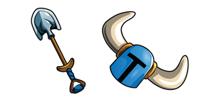 Shovel Knight and Shovel Blade Cursor