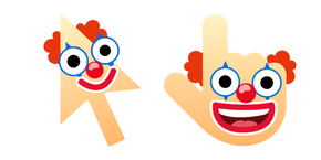 Курсор Cursoji - Clown Face