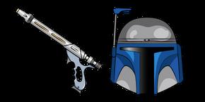 Курсор Звёздные Войны Джанго Фетт WESTAR-34 Бластер