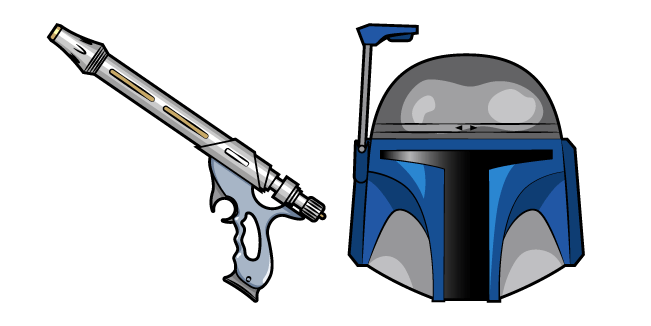 Star Wars Jango Fett WESTAR-34 Blaster Pistol