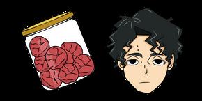 Haikyuu!! Kiyoomi Sakusa and Umeboshi Curseur