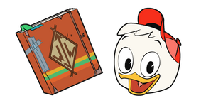 DuckTales Huey Duck and Junior Woodchuck Guidebook Cursor