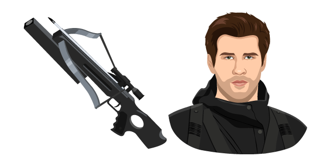 The Hunger Games Gale Hawthorne and Crossbow