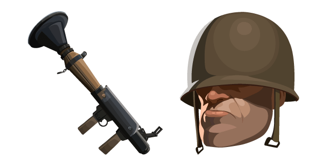 Team Fortress 2 Soldier and Rocket Launcher
