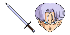 Dragon Ball Trunks and Sword Curseur