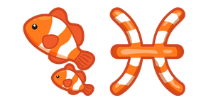Cute Zodiac Sign Pisces