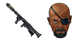 Nick Fury Rocket Launcher Cursor