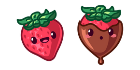 Cute Strawberry Cursor