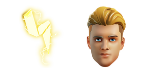 Fortnite Lachlan and PWR Pack Back Bling Curseur