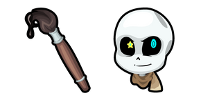 Undertale Ink Sans and Paintbrush Cursor