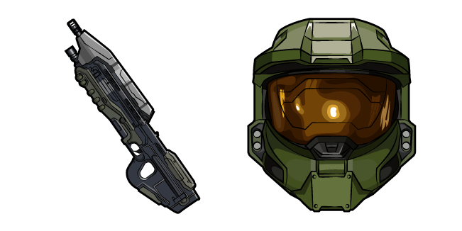 Halo John-117 and Assault Rifle