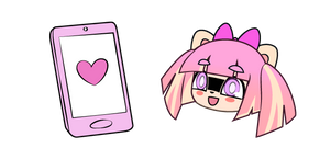 Gacha Life Pawket and Cute Phone Curseur