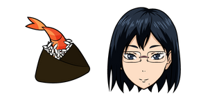 Курсор Haikyuu!! Киёко Шимизу и Тэнмусу