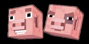 Minecraft Story Mode Reuben Pig Cursor